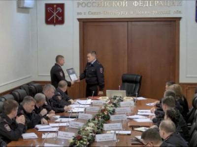 Начальник Главка лично поздравил участкового